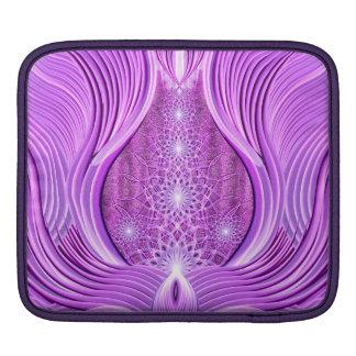 Temple of Violet Light iPad Sleeve