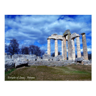 Temple of Zeus – Nemea Postcard