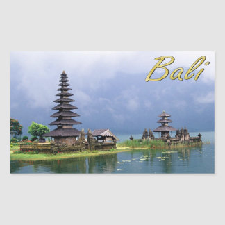 Temple on a Lake Sticker
