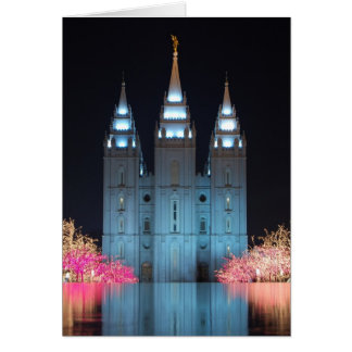 Temple Reflected Notecard