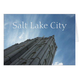 Temple, Salt Lake City Card