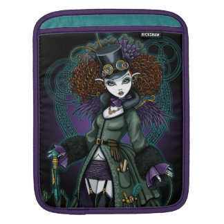 Temple Steampunk Vampire Fairy Ipad Sleeve