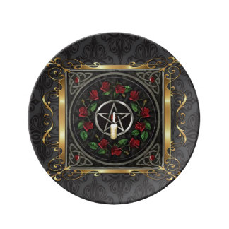 Temple Stone Medieval Witchcraft Ritual Alter Plate