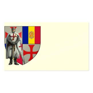 Templer Andorra visiting cards No. 0125082013 Business Card