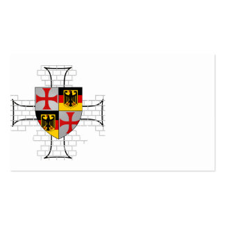 Templer Germaniam visiting cards No. 0319092013 Business Card