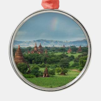 Temples in Bagan, Myanmar Metal Ornament
