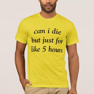 temporary death tshirt