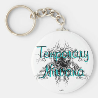 Temporary Nirvana Basic Round Button Keychain