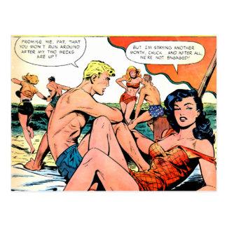 Temporary Romance Postcard