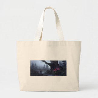 Temporary Safety Large Tote Bag
