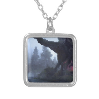 Temporary Safety Silver Plated Necklace