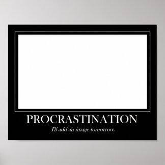 Temporisation Poster