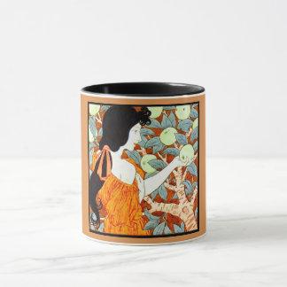Temptation Art Nouveau Mug