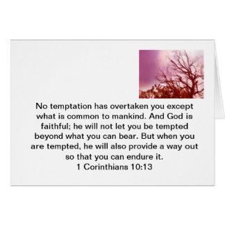 Temptation Card