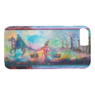 TEMPTATION Dark Knight and Devil's Treasure ,Blue Case-Mate iPhone Case