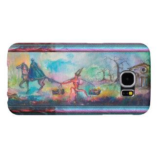 TEMPTATION Dark Knight and Devil's Treasure Blue Samsung Galaxy S6 Case