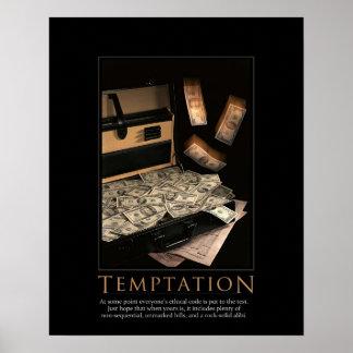 Temptation Demotivational Poster