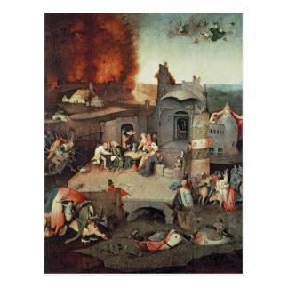 Temptation of Saint Anthony, c.1500 Postcard