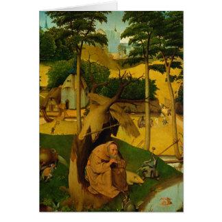 Temptation of St. Anthony, 1490 Card