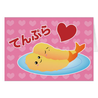 Tempura Love Card