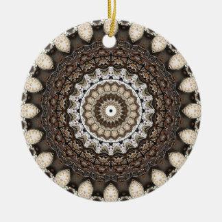 Tempus Fugit Ceramic Ornament