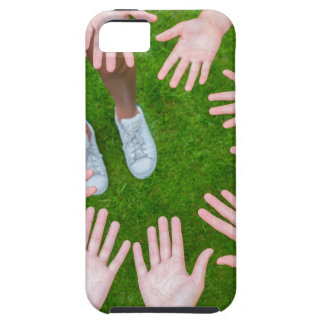 Ten arms of children in circle with palms of hands case for the iPhone 5