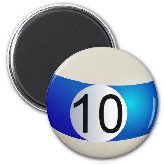 Ten Ball Magnet