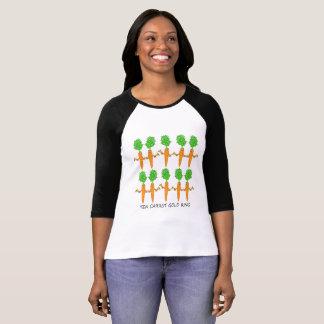 Ten Carrot Gold Ring T-Shirt