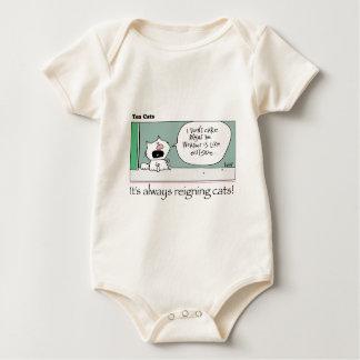 Ten Cats - a -  Lily- by  grahamharrop Baby Bodysuit