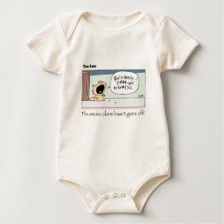 Ten Cats - b -  Chesney - by  grahamharrop Baby Bodysuit