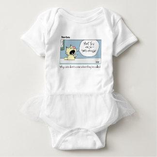 Ten Cats - c - harrop Baby Bodysuit