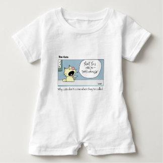 Ten Cats - c - harrop Baby Romper