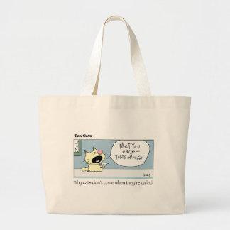 Ten Cats-c-harrop Large Tote Bag