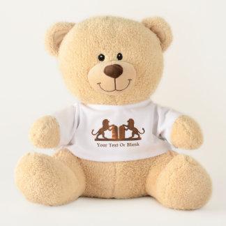 Ten Commandments and Lions Teddy Bear