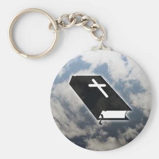 Ten Commandments Basic Round Button Keychain