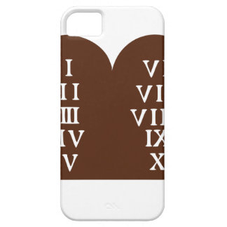 Ten Commandments iPhone 5 Cases