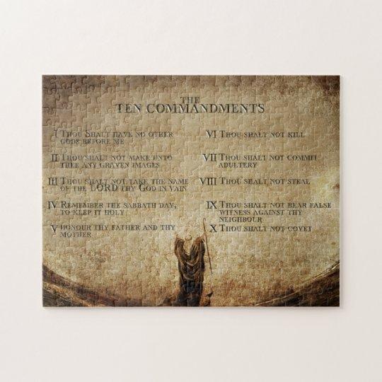 Ten Commandments Puzzle