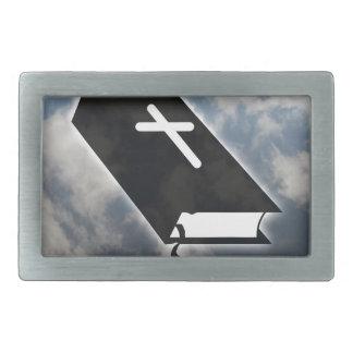 Ten Commandments Rectangular Belt Buckle