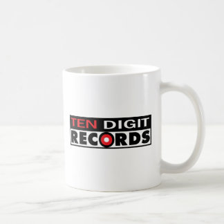 Ten Digit Records Coffee Mug