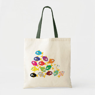 Ten Fishes Tote Bag
