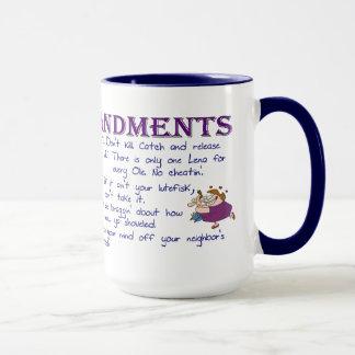 Ten Minnesota Commandments Mug