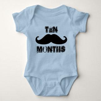 Ten Months Old Baby Boy One Piece Body Suit Baby Bodysuit