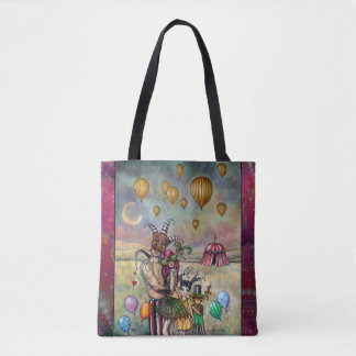 Ten of Cups Tarot Fantasy Art by Molly Harrison Tote Bag