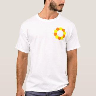 Ten Pentagons on Pocket - OY T-Shirt
