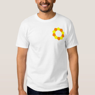 Ten Pentagons on Pocket - OY Tshirts