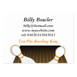 Ten Pin Bowling Large Business Cards (Pack Of 100)