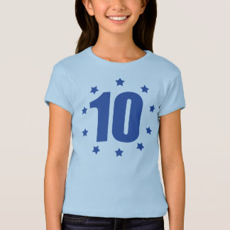TEN Stars 10th BIRTHDAY Tee