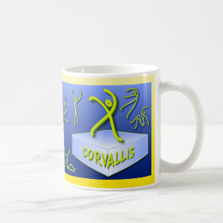 """Ten Tiny Dances®"" Corvallis mug"