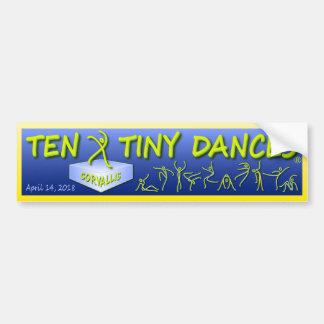 """Ten Tiny Dances®"" Corvallis T-shirt Bumper Sticker"