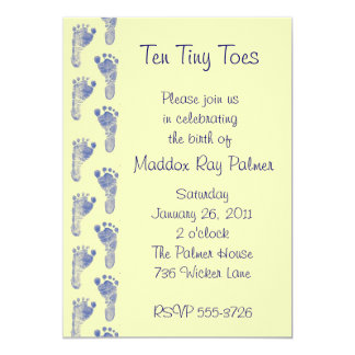 Ten Tiny Toes Card